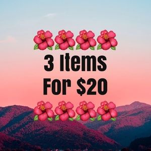 🌺3 for $20 sale